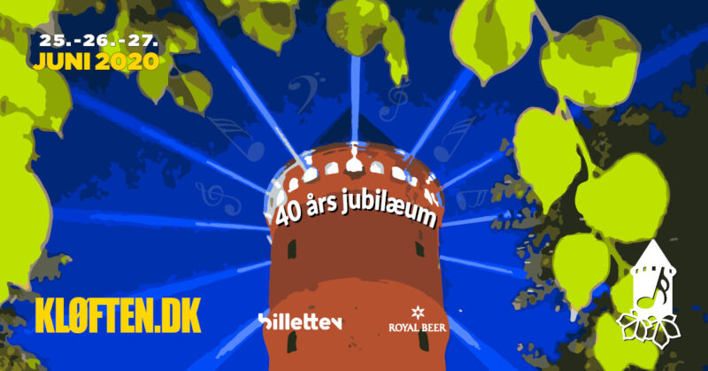 Kløften Festival 2020 40 års jubilæum – AFLYST